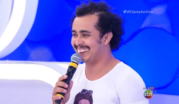 Humorista Tatu participa pela Segunda Vez do Programa da Eliana neste Domingo; Veja!