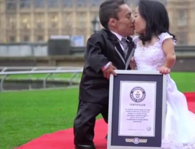 Guinness World Records: menor Casal do mundo é brasileiro