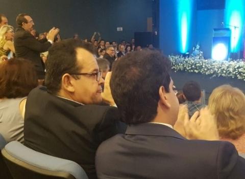 André Amaral participa da posse de Luciano e Manoel Jr. e assume nesta Segunda-Feira