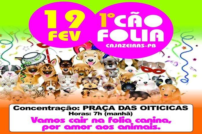 Cão Folia promete agitar as ruas da cidade de Cajazeiras; folia canina terá desfile de fantasias