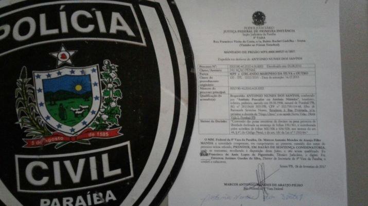 Idoso é preso acusado de tentar subornar agentes da PRF na Cidade de Pombal/PB