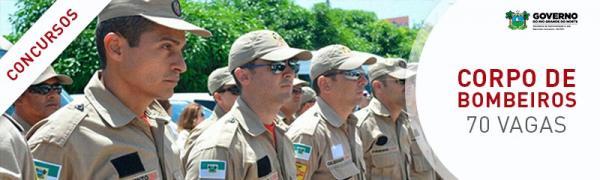 Inscrições para Concurso do Corpo de Bombeiros seguem até 6 de abril