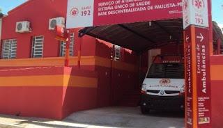 Samu de Paulista/PB volta a funcionar beneficiando População