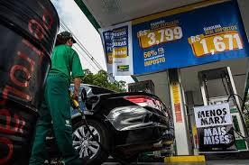 Mudança no imposto reduz preço dos combustíveis a partir desta Quinta-feira