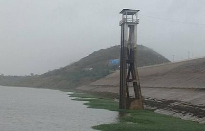 Chuvas deste final de semana proporcionaram aumento no volume de água do Açude de Coremas na Paraíba