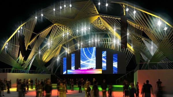 Rock in Rio mostra projeto de Palco eletrônico com espaço maior e nova cenografia