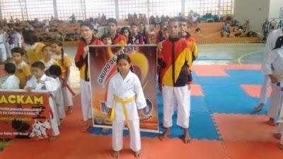 Atletas de Paulista/PB estão representando a PB em Campeonato karatê em São Paulo