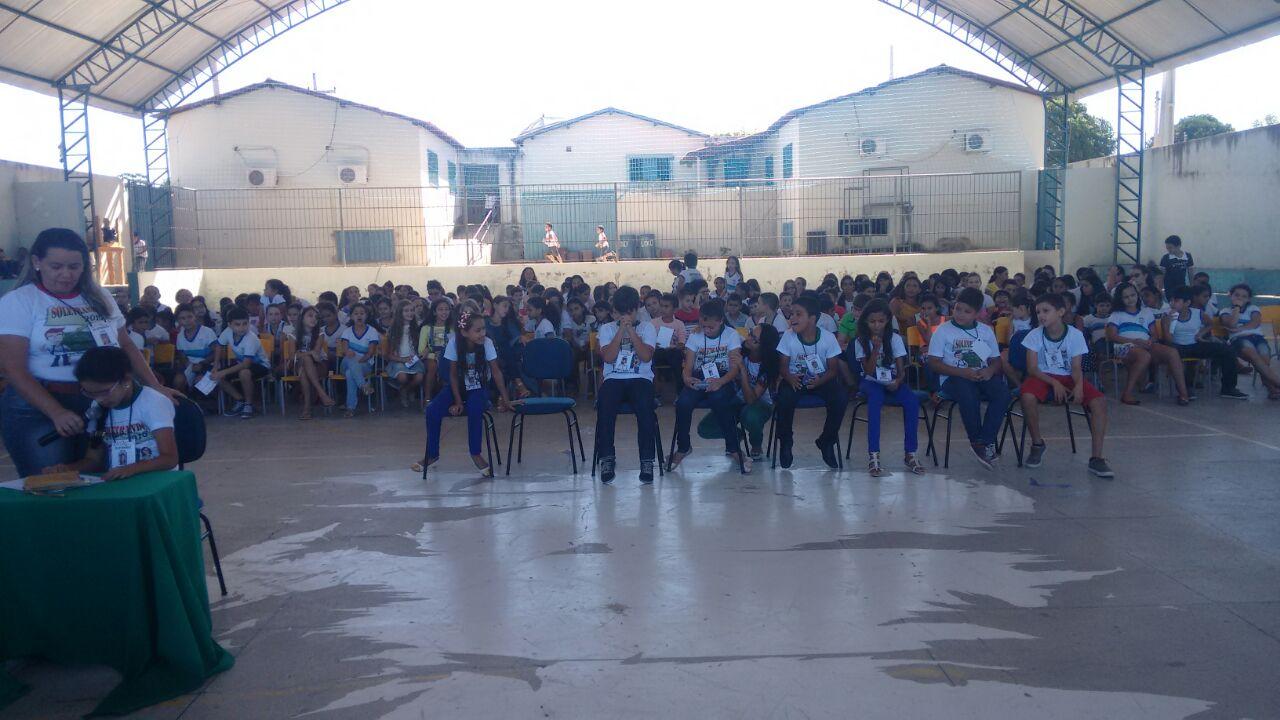 Escola José Jerônimo Neto em Paulista realizou a 2ª edição do Projeto Soletrando