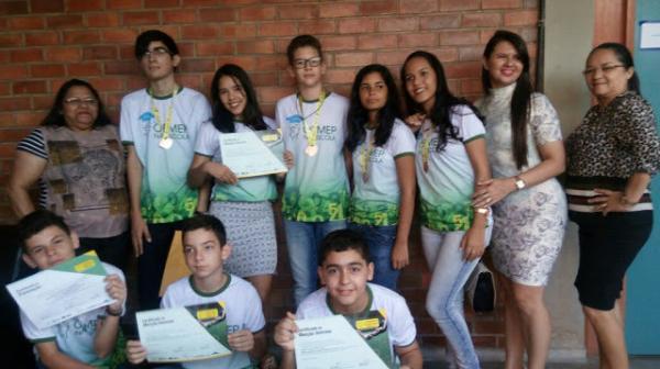 14 Estudantes de Escolas de Paulista são premiados na OBMEP