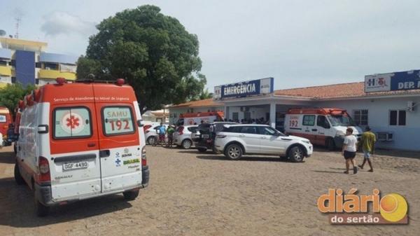 Funcionário de empresa de internet sofre descarga elétrica ao consertar serviço em poste em Sousa/PB