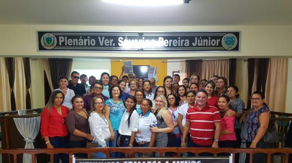 Secretária de Saúde de Paulista realiza Capacitação sobre o PMAQ