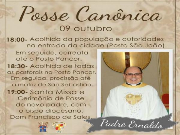Começam as várias posses de novos padres no Sertão da Paraíba