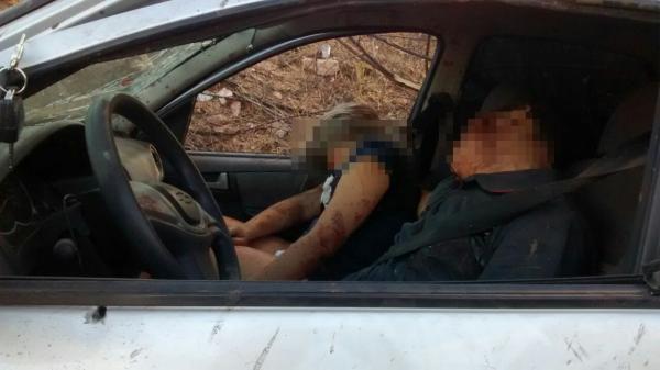 Casal é encontrado morto dentro de carro próximo a São Mamede