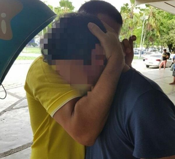 Emoção: PRF resgata andarilho que reencontra irmão na Paraíba