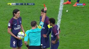 Neymar perdeu a Cabeça e foi expulso em partida contra o Olymp. de Marsel