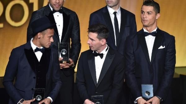 Olha o que Cristiano Ronaldo falou ao ser eleito pela 5ª vez melhor jogador